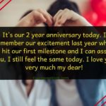 2nd Love Anniversary Quotes Pinterest
