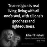 Albert Einstein Religion Quote Pinterest