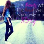 Beautiful Girl Sayings Tumblr