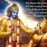Bhagavad Gita Quotes On Positive Thinking Twitter