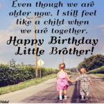 Birthday Message For Younger Brother