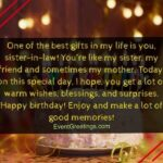 Birthday Wishes For Sister From Another Mother