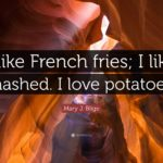 Caption For French Fries Tumblr