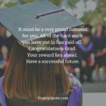 Congratulation In Your Graduation Quotes Facebook