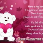 Cute Valentines Day Card Messages Pinterest