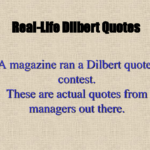 Dilbert Quotes On Management Tumblr