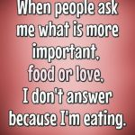 Eating Food Quotes
