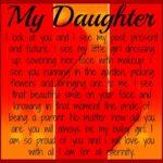 Encouragement Words For Daughter Facebook