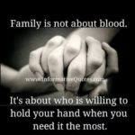 Family Is Not Just Blood
