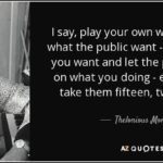 Famous Monk Quotes