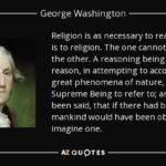 George Washington Quotes On Religion