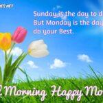Good Monday Morning Wishes Pinterest