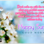 Good Morning And Happy Sunday Message Pinterest