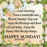 Good Morning & Happy Sunday Images