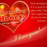 Good Morning Honey Message Facebook