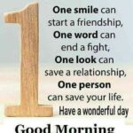 Good Morning Message On Life