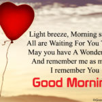Good Morning Messages For Fiance Facebook