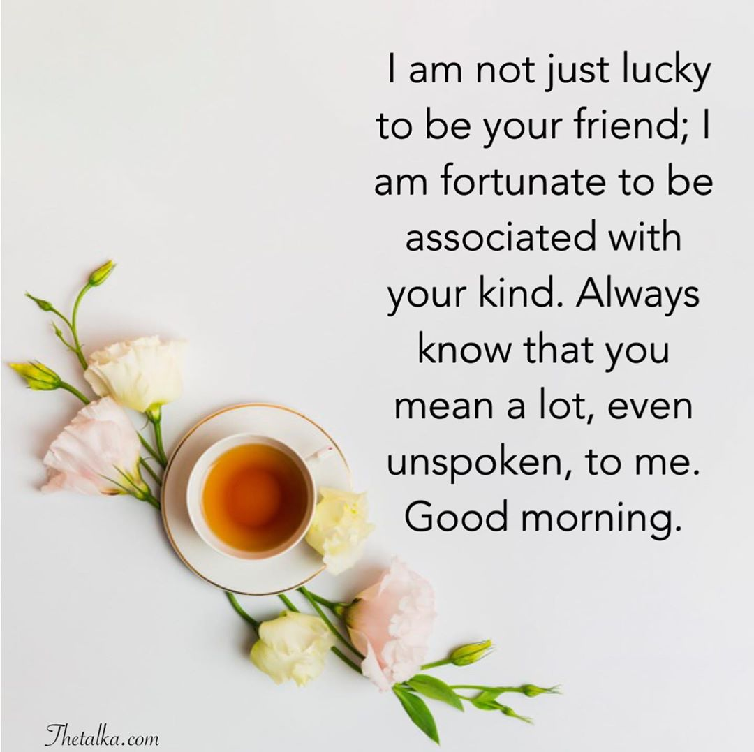 Good Morning Quotes For A Special Friend Tumblr – Bokkor Quotes