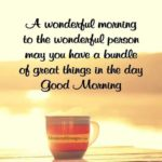 Good Morning Quotes For Someone Special Facebook