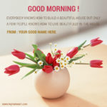 Good Morning Quotes With Flowers Facebook