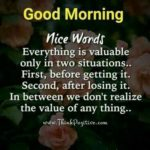 Good Morning Valuable Quotes Pinterest