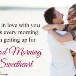 Good Morning Wishes For Girlfriend Pinterest