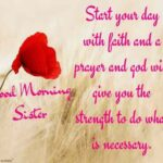 Good Morning Wishes To Sister Twitter