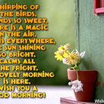 Good Morning Wishes With Birds Facebook