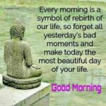 Good Morning With Buddha Quotes Facebook