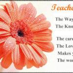Good Wishes For Teacher Pinterest