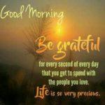 Grateful Morning Quotes Facebook