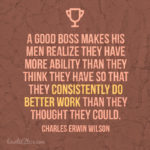 Great Boss Quotes Pinterest