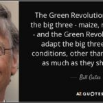 Green Revolution Quotes Twitter