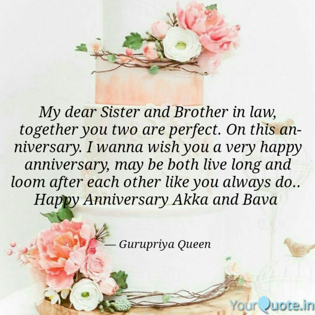 Happy Anniversary To My Sister And Brother In Law Twitter Bokkor Quotes No wonder why your marriage is full of love and happiness. happy anniversary to my sister and