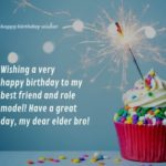 Happy Birthday Wishes For Brother On