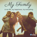 Happy Family Caption