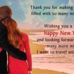 Happy New Year Message To My Girlfriend