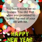 Happy New Year Quotes For Your Love Pinterest