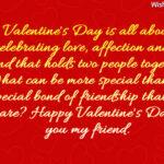 Happy Valentine Friendship Message Facebook