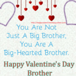 Happy Valentines Day For Brother Facebook