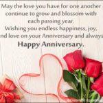 Happy Wedding Anniversary Wishes Pinterest