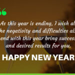 Heart Touching New Year Wishes Facebook