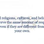 I Respect All Religions Quotes