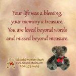 Memory Bear Quotes