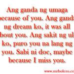 Morning Quotes Tagalog Pinterest