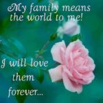 My Family Is My World Facebook