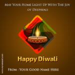 My Name Diwali Wishes Facebook