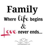 My Sweet Family Quotes Facebook