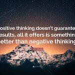 Quotation On Positive Thinking Tumblr