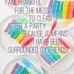 Rainbow Cake Quotes Facebook